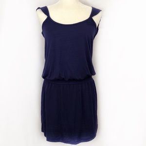 ANTHROPOLOGIE ELOISE PURPLE DRESS